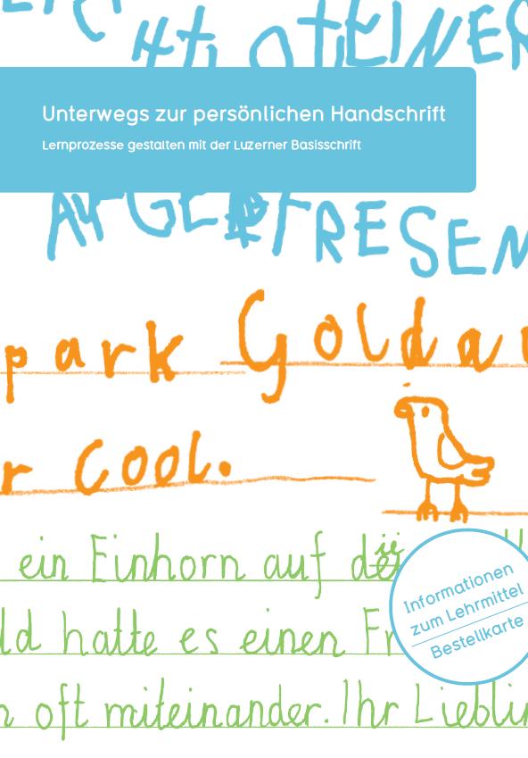 Lehrmittel und Materialien | Die Deutschschweizer Basisschrift